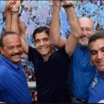 ACM Neto, Oziel Araújo e Elinaldo